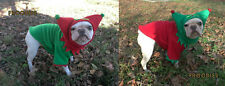 French Bulldog Boston Terrier Pug Dog Froodies Hoodies Christmas Elf Costume