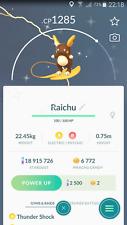 Shiny Alola Raichu Trade