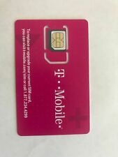 Preloaded T-Mobile SIM Card with Prepaid Plan $40/$50 4G LTE 7 - 60 days.