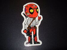 "DEADPOOL dead pool Marvel Art Sticker Print 2 X 4"" DIA DE LOS muertos pulido"