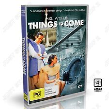 H.G. Wells Things To Come (1936 ) : Classic Sci-Fi : New DVD
