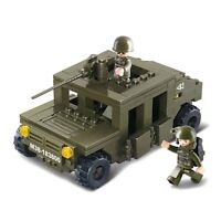 Sluban Steckbausteine Army Geländewagen HUMVEE M38-0297