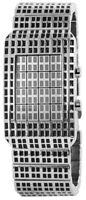 Noble Herrenuhr Matrix Metall Quarz Binär Armbanduhr X200621000012