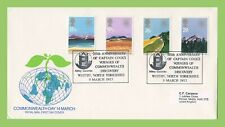 G.B. 1983 Commonwealth Day set on Royal Mail First Day Cover, Hull