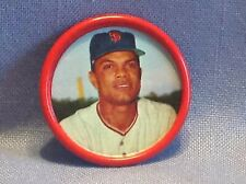 1963 Salada Tea Junket Baseball coin  Felipe Alou  OF  Giants  #25