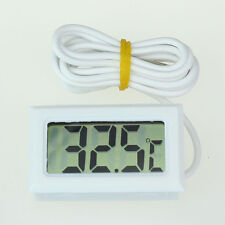 Mini Digital LCD Thermometer  Temperature Meter with Probe Sensor Fridge Freezer