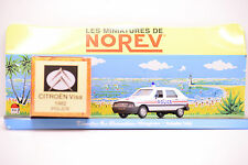 CITROEN VISA POLICE 1982 NOREV 1/43 NEUF EN BOITE