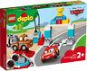 10924 LEGO Duplo Disney Lightning McQueen's Race Day Car Set 42 Pieces Age 2+