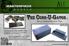 THE CORR-U-GATOR scale corrugated sheet metal maker 1/35th scale