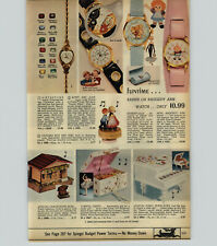 1971 PAPER AD Watch Barbie Raggedy Ann Mighty Mouse Hot Wheels Cars Hands