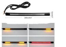 Intermitentes para moto 48led / luz posición / luz de freno medida 20,5cm tira