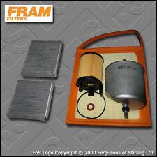 SERVICE KIT PEUGEOT 207 1.6 HDI DV6C DV6D FRAM OIL AIR FUEL CABIN FILTER (09-15)