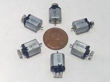 6 Pieces DC Motor Micro Vibration Motor 1.5-3V DC 14000RP Mini Massage Motor A4