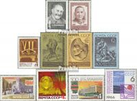 Sowjet-Union 3230,3232,3256,3258-60 3262,3263,3274,3275 (kompl.Ausg.) gestempelt