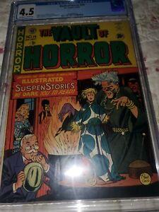 Vault of Horror Issue 14 Pre Code Horror CGC 4.5