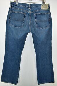 Polo Ralph Lauren 750 Bootcut Boot Cut Jeans Mens Size 35x30 Blue Meas. 35x30.5