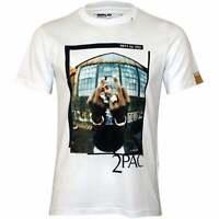 Replay 2Pac Finger Salute Men's T-Shirt, White