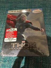 THOR DARK WORLD STEELBOOK CIVIL WAR BEST BUY Blu-Ray AVENGERS IRON MAN MARVEL