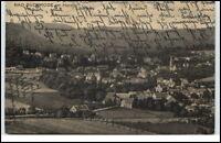 Bad Suderode Ost-Harz Sachsen-Anhalt Postkarte 1922 gelaufen Harz Gesamtansicht