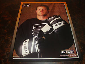 Philadelphia Flyers---Eric Lindros---Poster---From The Phila. Inquirer---12x15