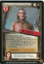 Buffy TVS CCG Limited Class Of 99 Rare Card #165 Demon In Sheeps Clothing
