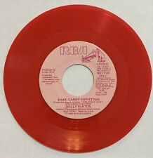 DOLLY PARTON HARD CANDY CHRISTMAS PROMO ON RED VINYL ON RCA RECORDS