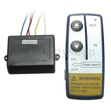 12V 50ft Electric Winch Wireless Remote Control Switch for Truck Jeep ATV SUV