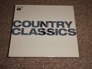 CD DOUBLE ALBUM - COUNTRY CLASSICS - VARIOUS