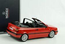 Volkswagen golf III Cabriolet 1995 1/18 Norev (red)