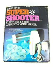 Vintage Wear Ever Super Shooter 70001 Electric Cookie Press Candy Maker COMPLETE