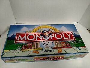 Monopoly Deluxe Edition Parker Brothers Replacement Parts Pieces