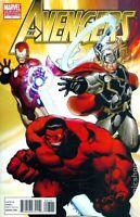 Avengers #7 Ed McGuinness Variant + Marko Djurdevic Poster (2010) Marvel Comics