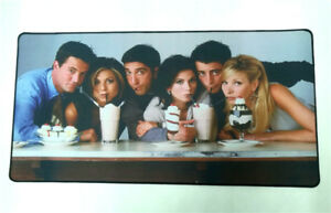 TV Show Friends Big Mouse Pad Mat Laptop Desktop Table Mat Drinking Mouse Mat