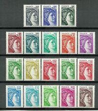 """FRANCE 1977-1981. Series 18 Stamps ** New.  """"Sabine of Gandon""""       (5065)"""