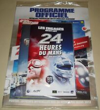 Le Mans 2012 FIA WEC Du Mans 80th Edition Official Event Programme New & Sealed