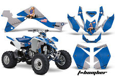 Suzuki LTZ 400 AMR Racing Graphic Kit Wrap Quad Decals ATV 2009-2012 T-BOMBER BL