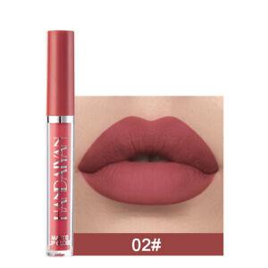 New Waterproof Liquid Lipstick Matte Long Lasting Lip Gloss Velvet Lip Stain #02
