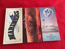 1980-2018 MLB Seattle Mariners media guide / You pick 'em / Griffey / Johnson