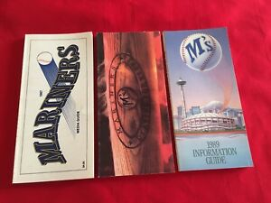 MLB Seattle Mariners media guide / You pick 'em / Box 2021 / Griffey / Johnson