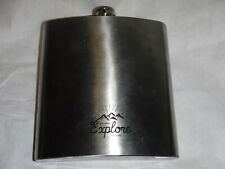Go and Explore 40 oz. Stainless Steel Flask New
