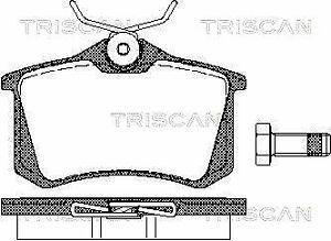 TRISCAN (8110 10864) Bremsbeläge, Bremsklötze hinten für AUDI NISSAN PEUGEOT