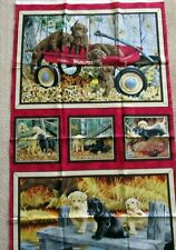 "1 Darling ""Labrador-able"" Fabric Quilting/Wallhanger Panel"