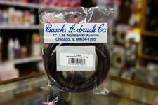 """Paasche 8' 1/8"""" Braided Air Hose Assembly with Coupling A-1/8″-8 Paasche 8'"""