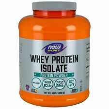 New NOW Food Whey Protein Isolate-5lbs, Unflavored, 2J