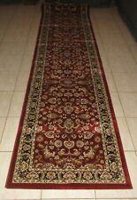 NEW TRADITIONAL PERSIAN DESIGN HEATSET FLOOR HALL HALLWAY RUNNER RUG 80X300CM