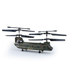 Syma 16.5Cm S026G 3.5Ch 3CH Mini Chinook Rc Helicopter Gyro Small Toy Gift US