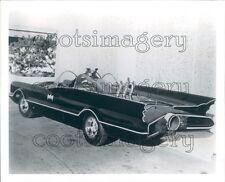 1990 Classic Batman TV Batmobile at Car Show Press Photo