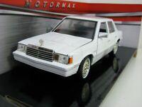 DODGE ARIES K 1982 1:24 Scale Diecast Toy Car Model Die Cast Miniature White