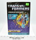 Nautilator Cardback 1987 Vintage Hasbro G1 Transformers Action Figure
