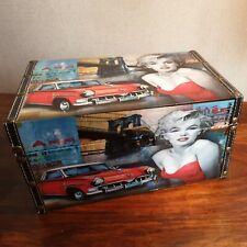 A Marilyn Monroe Jewellery box keepsake box collectable